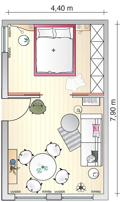 kleine r ume sinnvoll verbinden wohn und esszimmer sch ner wohnen. Black Bedroom Furniture Sets. Home Design Ideas