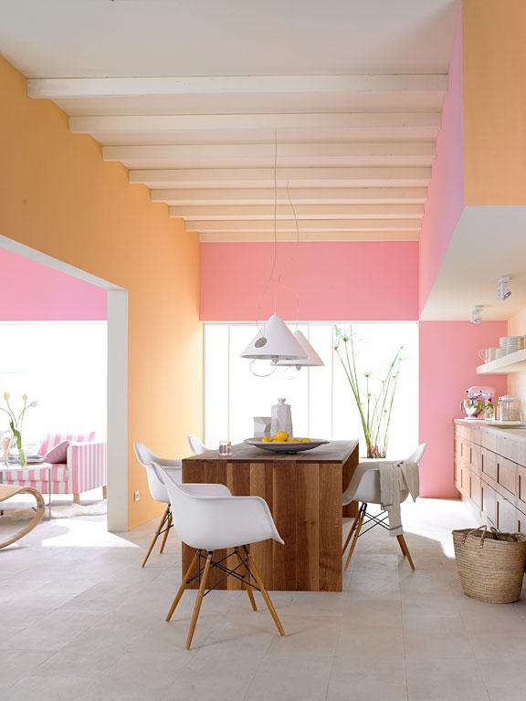 fotostrecke heiteres farben duo f r die k che bild 3 sch ner wohnen. Black Bedroom Furniture Sets. Home Design Ideas