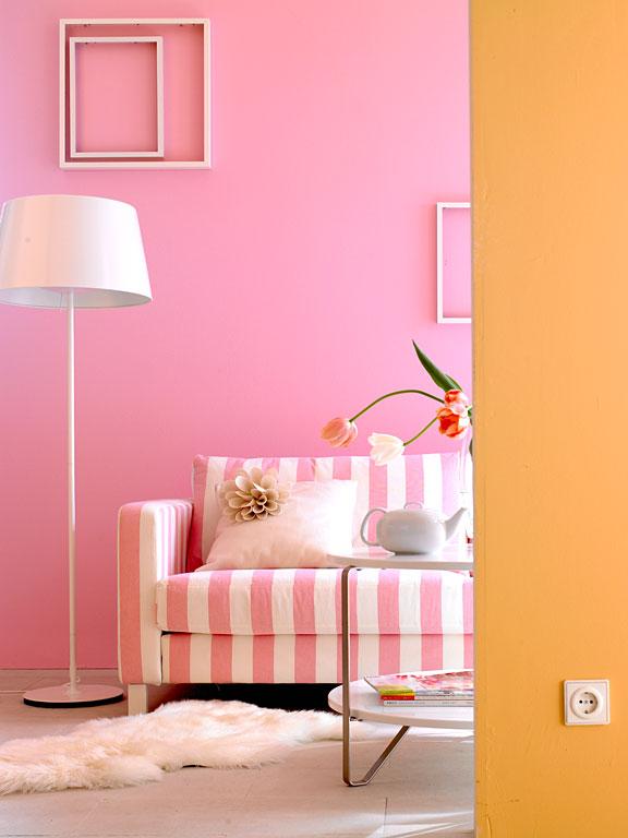 fotostrecke sonnig helle farben bild 9 sch ner wohnen. Black Bedroom Furniture Sets. Home Design Ideas