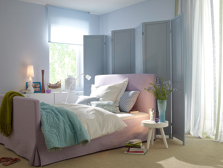 Zarte Pastelltöne für das Schlafzimmer - Die Farben des ...