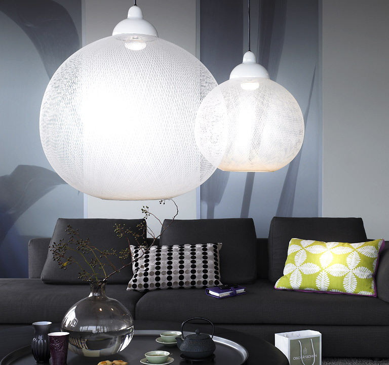beleuchtung h ngeleuchte non random von moooi bild 59 sch ner wohnen. Black Bedroom Furniture Sets. Home Design Ideas