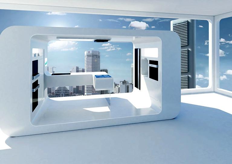 Das Weise Futuristische Kuche Design Von Gorenje - Design