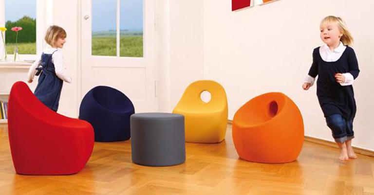 neue sessel f rs kinderzimmer sch ner wohnen. Black Bedroom Furniture Sets. Home Design Ideas