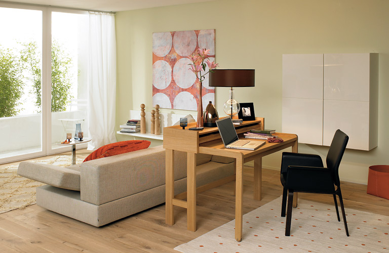 kombi r ume als arbeitszimmer sch ner wohnen. Black Bedroom Furniture Sets. Home Design Ideas