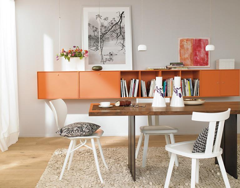 arbeitszimmer stauraum f r ordner und drucker bild 2 sch ner wohnen. Black Bedroom Furniture Sets. Home Design Ideas