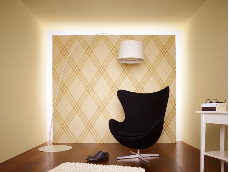 neue tapeten von a s cr ation sch ner wohnen. Black Bedroom Furniture Sets. Home Design Ideas