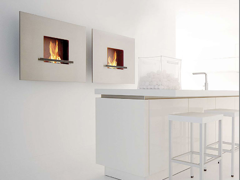 bioethanol kamin fire flame von artepuro sch ner wohnen. Black Bedroom Furniture Sets. Home Design Ideas