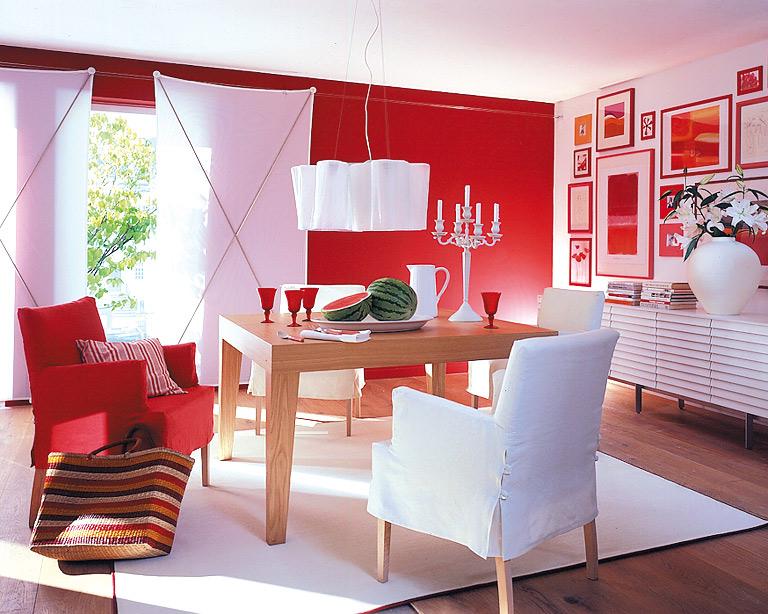 Leuchtendes Rot im Esszimmer - Bild 11 - [SCHÖNER WOHNEN]