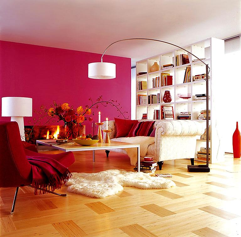 rot wohnzimmer:Leuchtendes Rot im Esszimmer – Die rote Wand 12 – [SCHÖNER WOHNEN] ~ rot wohnzimmer