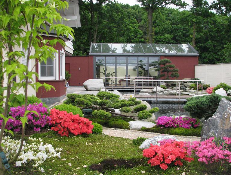bauen wintergarten im japanischen stil von solarlux. Black Bedroom Furniture Sets. Home Design Ideas