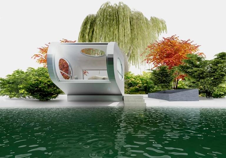 baumhaus water lily von baumraum sch ner wohnen. Black Bedroom Furniture Sets. Home Design Ideas