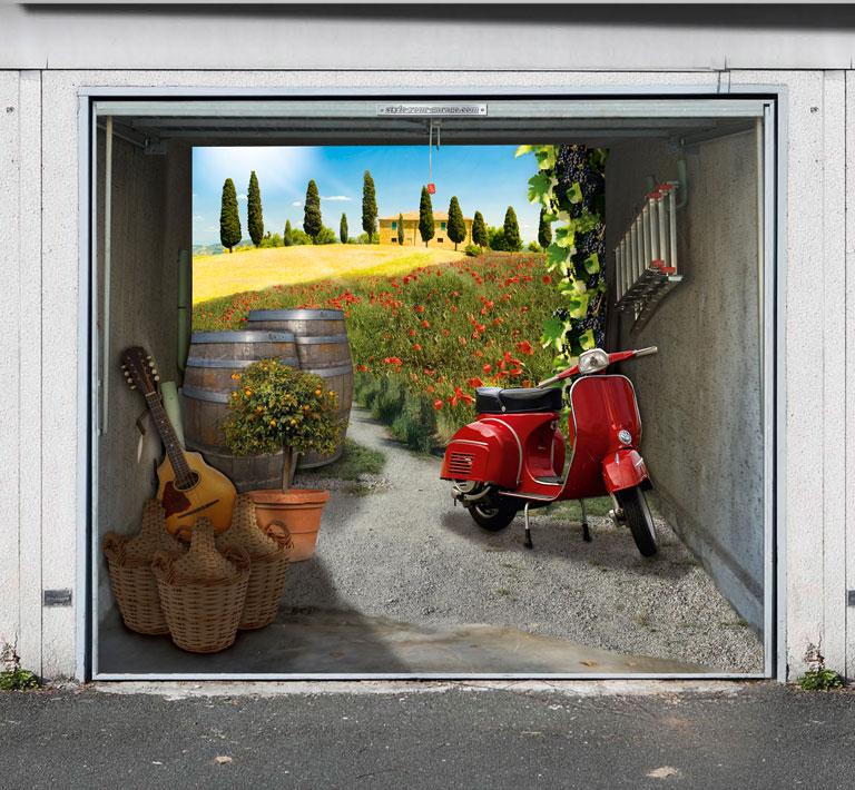 foto folien fuer die garage schoener wohnen