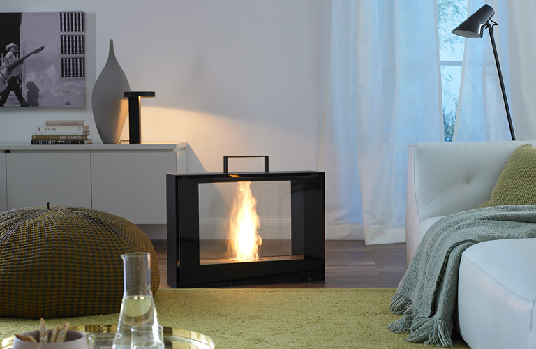 fotostrecke bioethanol kamine sch ner wohnen. Black Bedroom Furniture Sets. Home Design Ideas