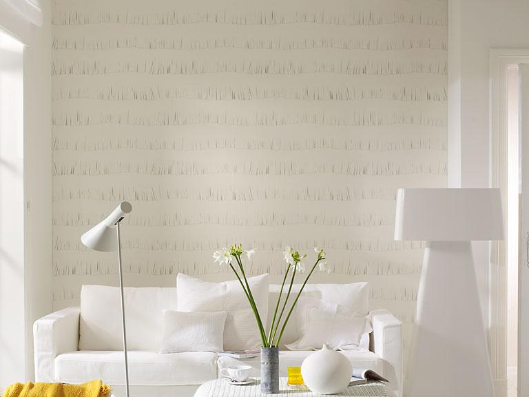 w nde gestalten tapete mit grafischen fransen la fille du chef von tapetenagentur bild 20. Black Bedroom Furniture Sets. Home Design Ideas