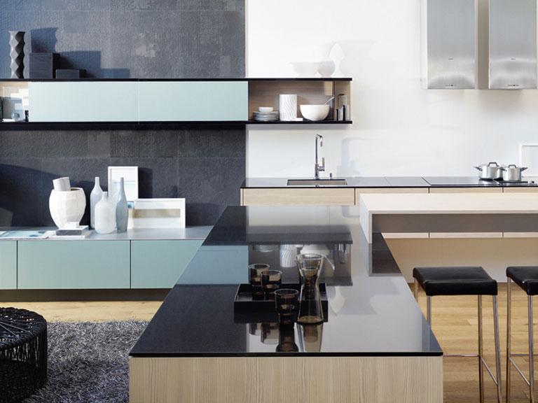 neue farben f r poggenpohl k chen sch ner wohnen. Black Bedroom Furniture Sets. Home Design Ideas
