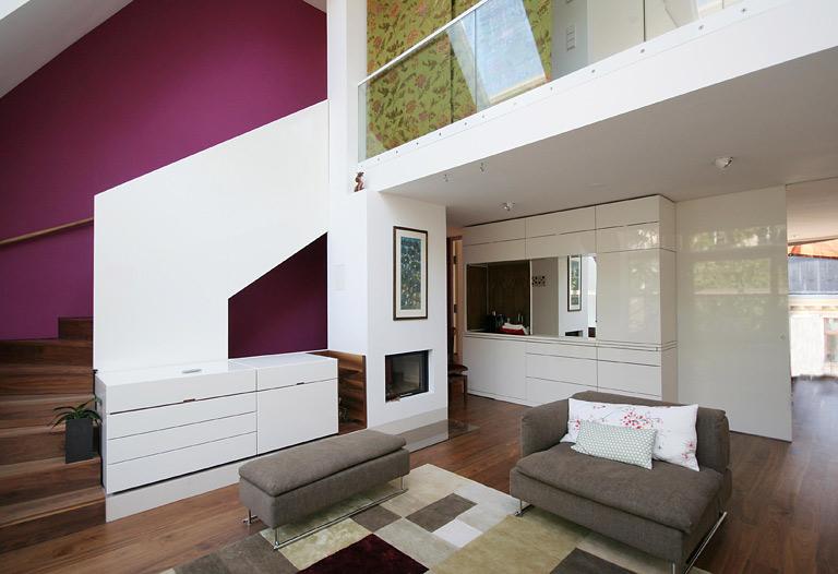Haus Mit Galerie Im Wohnzimmer ~ Wohndesign Ideen