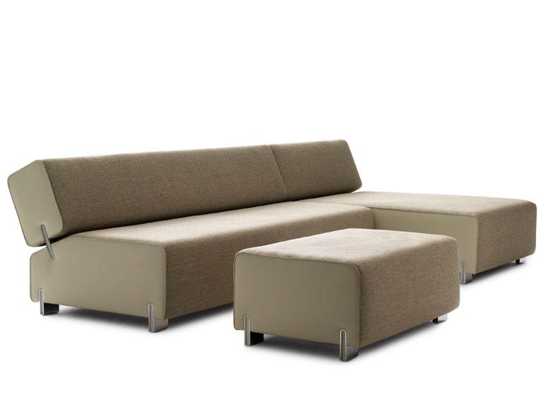 sofa collana von leolux sch ner wohnen. Black Bedroom Furniture Sets. Home Design Ideas