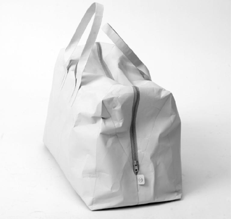 tasche aus papier sch ner wohnen. Black Bedroom Furniture Sets. Home Design Ideas