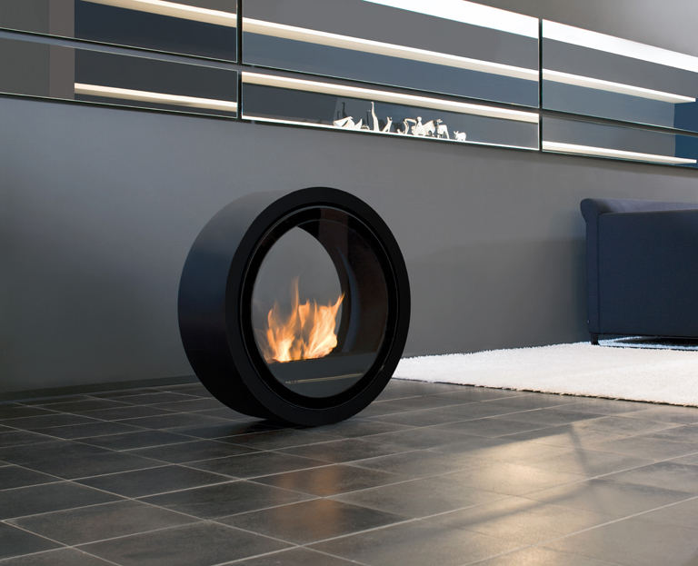 bioenthanol kamin roll fire sch ner wohnen. Black Bedroom Furniture Sets. Home Design Ideas