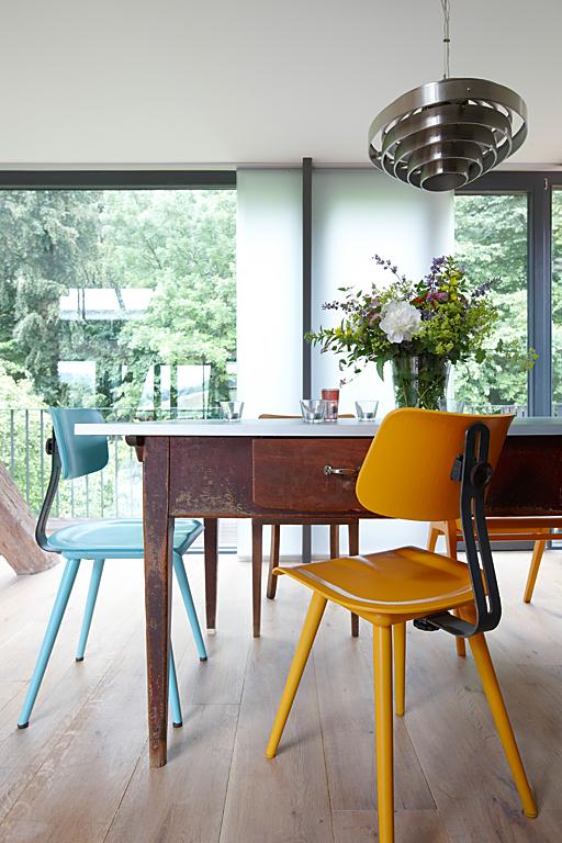 umbauen renovieren esstisch und st hle mit vergangenheit bild 5 sch ner wohnen. Black Bedroom Furniture Sets. Home Design Ideas
