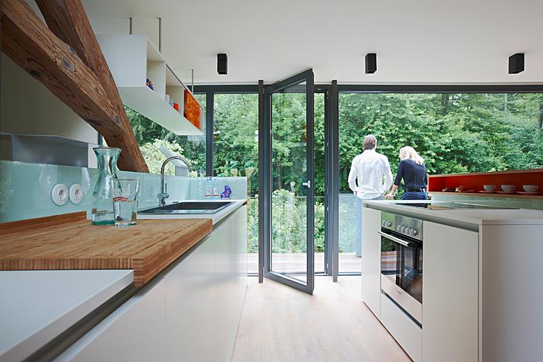 Küche Umbauen umbauen renovieren offene küche mit viel tageslicht bild 7
