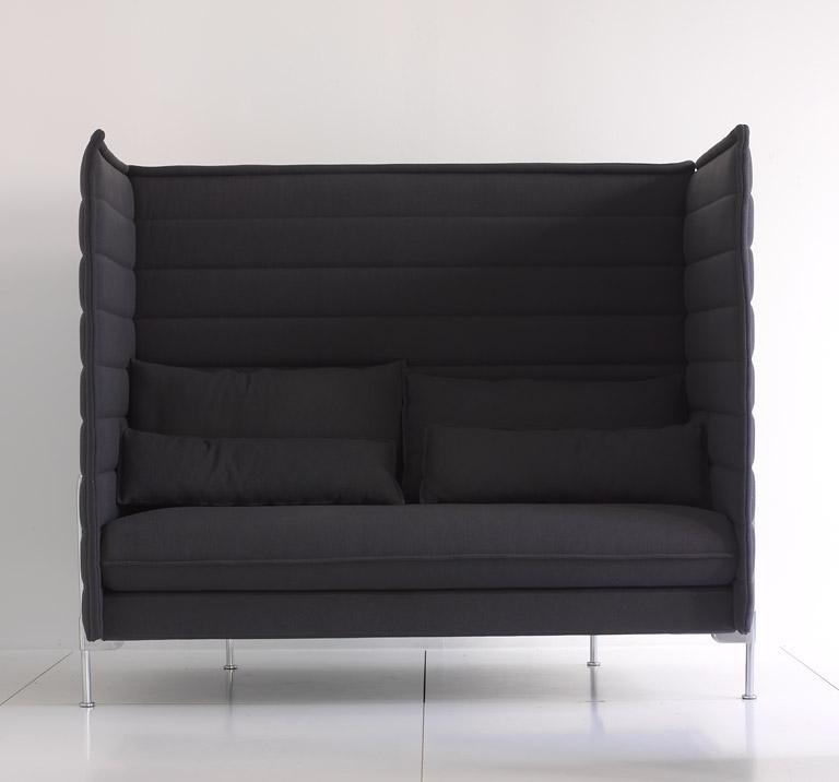 neue klassiker sofa alcove highback von vitra design ronan erwan bouroullec bild 3. Black Bedroom Furniture Sets. Home Design Ideas