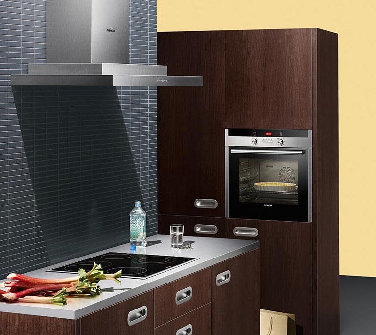 k che modernisieren backofen und autarke kochstelle bild 3 sch ner wohnen. Black Bedroom Furniture Sets. Home Design Ideas