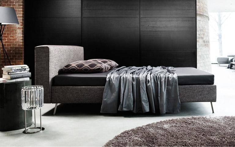 bett von bo concept sch ner wohnen. Black Bedroom Furniture Sets. Home Design Ideas
