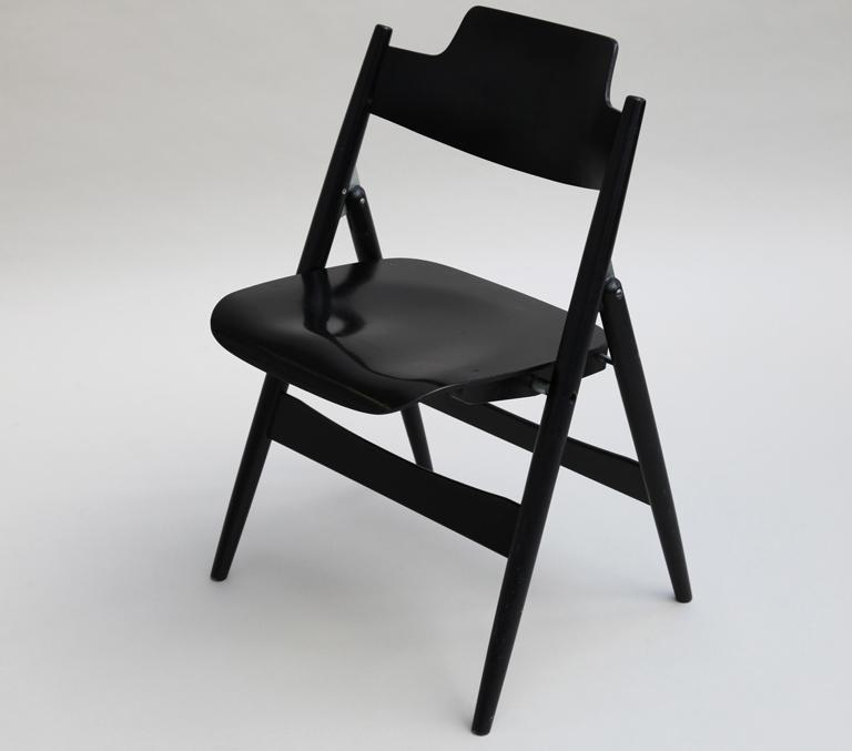 klappstuhl se 18 von egon eiermann bild 17 sch ner wohnen. Black Bedroom Furniture Sets. Home Design Ideas