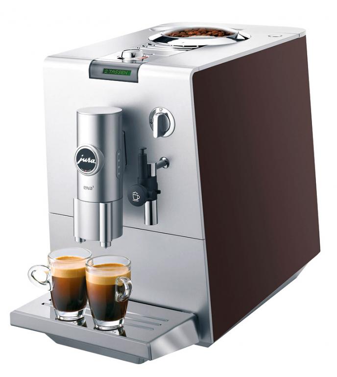neue klassiker kaffeeautomat ena 3 von jura design. Black Bedroom Furniture Sets. Home Design Ideas
