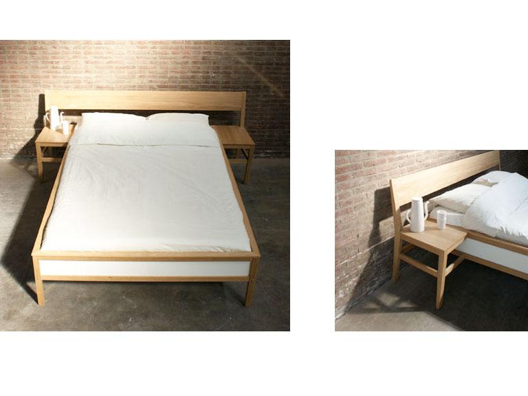 bett blend von mieke meijer sch ner wohnen. Black Bedroom Furniture Sets. Home Design Ideas