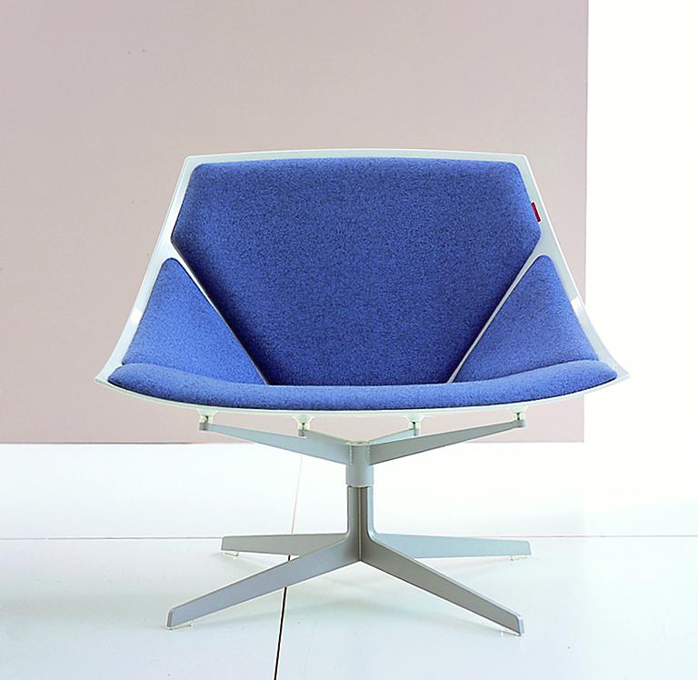 sessel space von fritz hansen design jehs laub sitzen. Black Bedroom Furniture Sets. Home Design Ideas