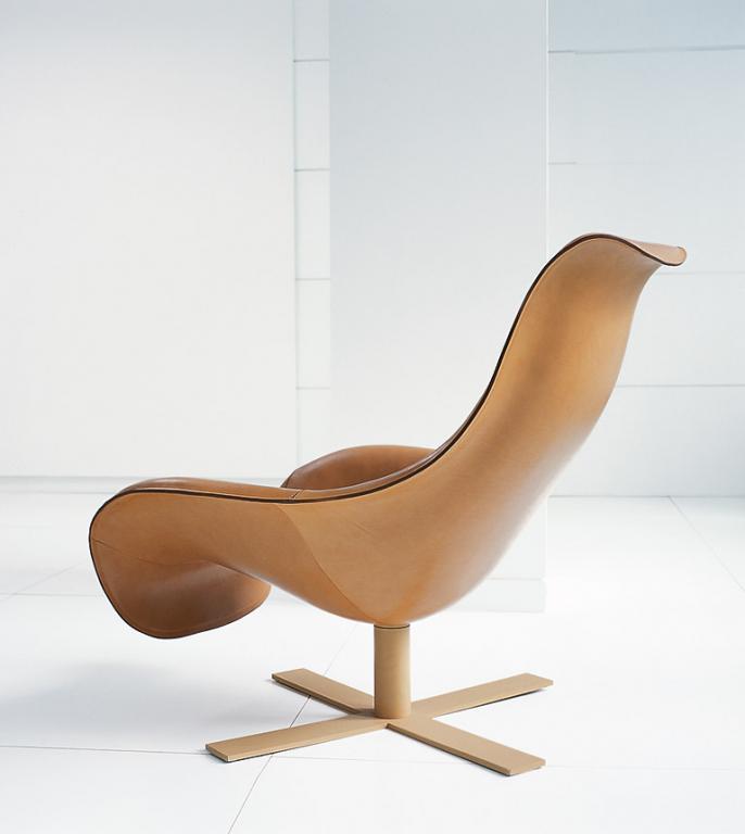 Neue Klassiker Ledersessel Quot Mart Quot Von B Amp B Italia Design