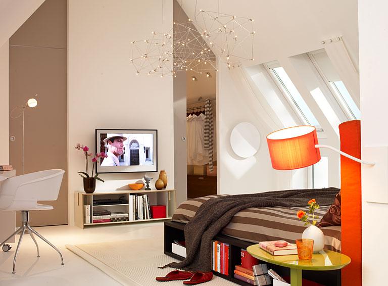 Schlafzimmer Mit Dachschrgen Gestalten