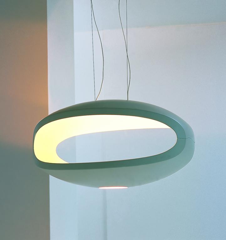 neue klassiker deckenleuchte o space von foscarini. Black Bedroom Furniture Sets. Home Design Ideas