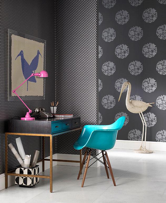 w nde gestalten gelungener mustermix colombia und ravenna von osborne little bild 6. Black Bedroom Furniture Sets. Home Design Ideas