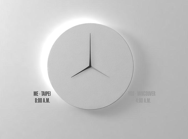 Uhr Quot Long D Quot Von Kit Men Keung Sch 214 Ner Wohnen