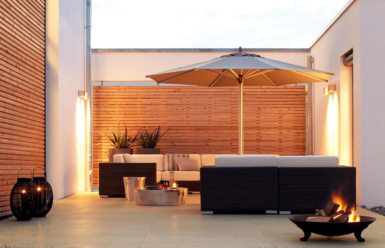 schöner wohnen terrasse