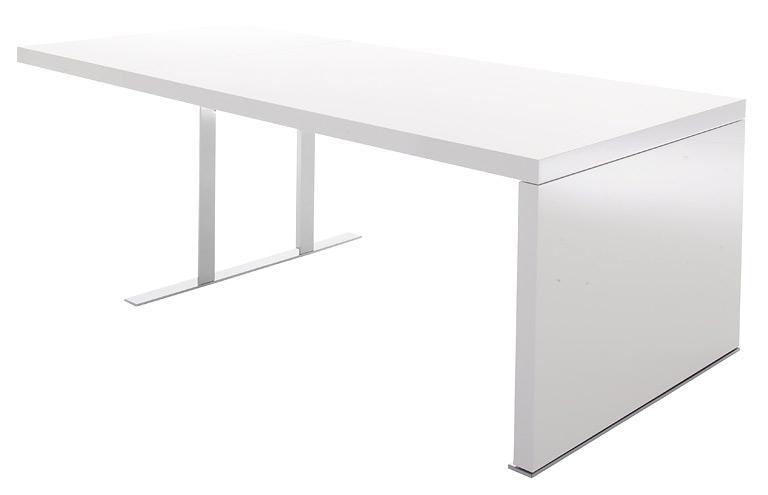 der gro e tisch sch ner wohnen. Black Bedroom Furniture Sets. Home Design Ideas