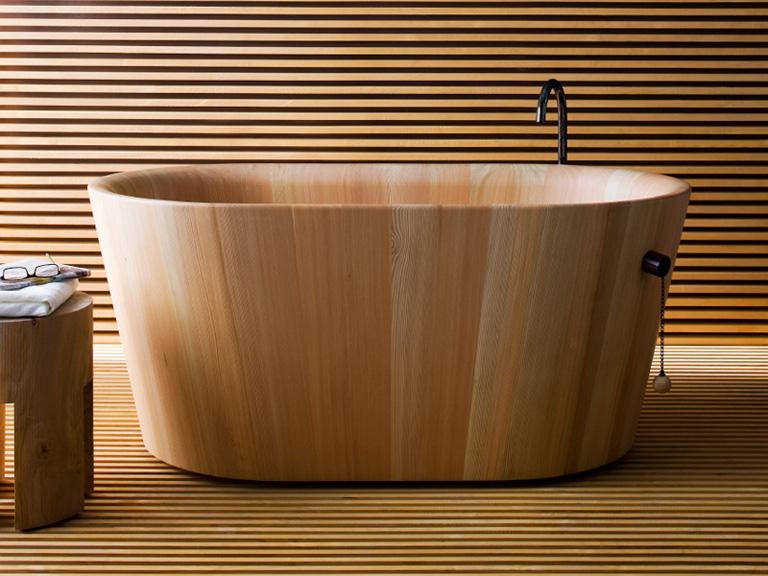 Japanische Badewanne holzwanne ofuro matteo thun bild 21 schöner wohnen