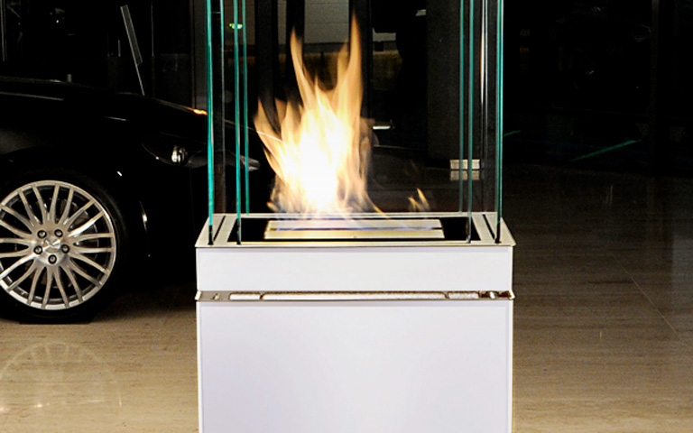 bioethanol kamin semi flame von radius design sch ner wohnen. Black Bedroom Furniture Sets. Home Design Ideas