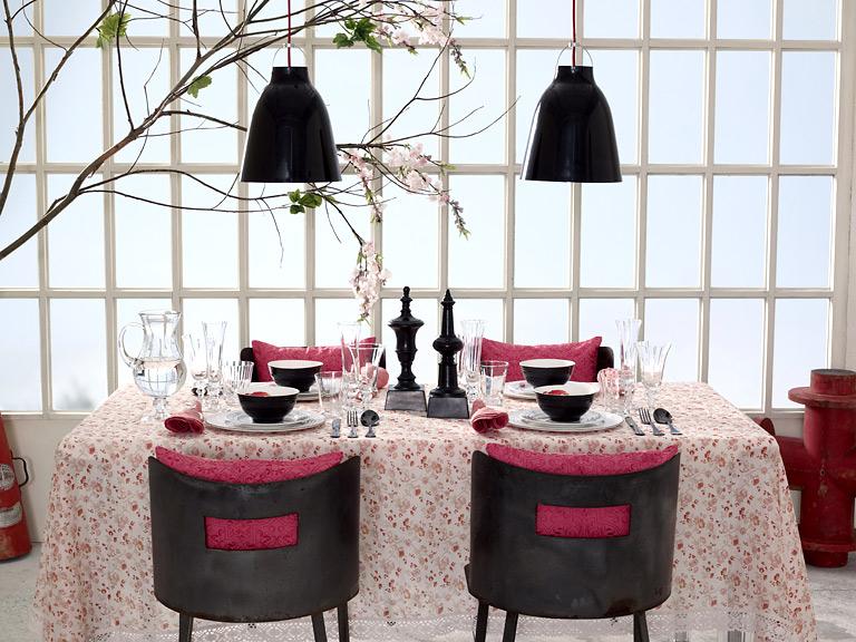 home collections tafelservice mit karpfen dekor bild 3 sch ner wohnen. Black Bedroom Furniture Sets. Home Design Ideas