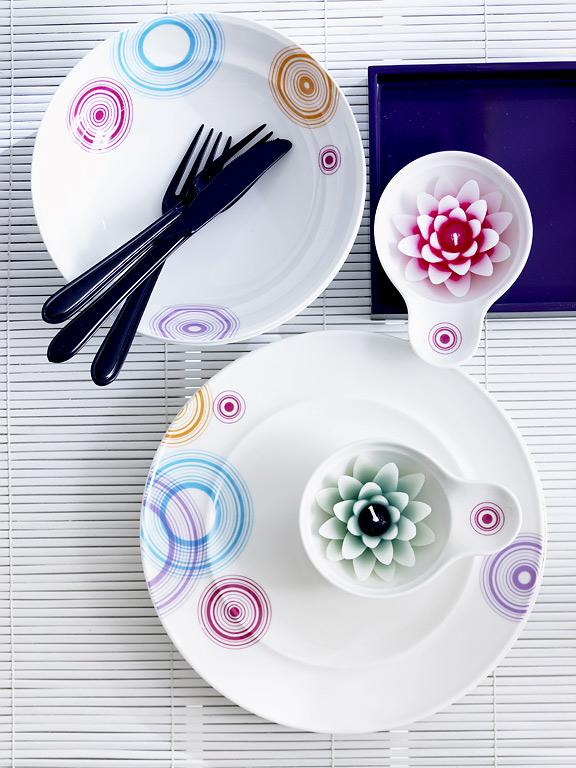 Geschirr  Geschirr-Trends: Porzellan-Service