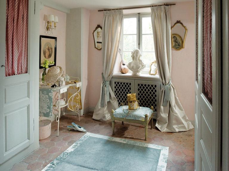 stoffkollektion ch teau von wellmann sch ner wohnen. Black Bedroom Furniture Sets. Home Design Ideas