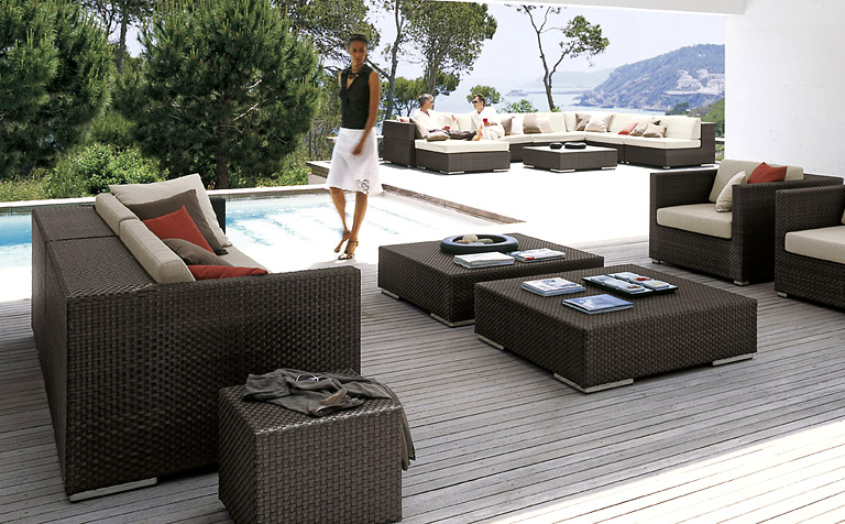 terrasse ideen f r die terrassengestaltung sch ner wohnen. Black Bedroom Furniture Sets. Home Design Ideas