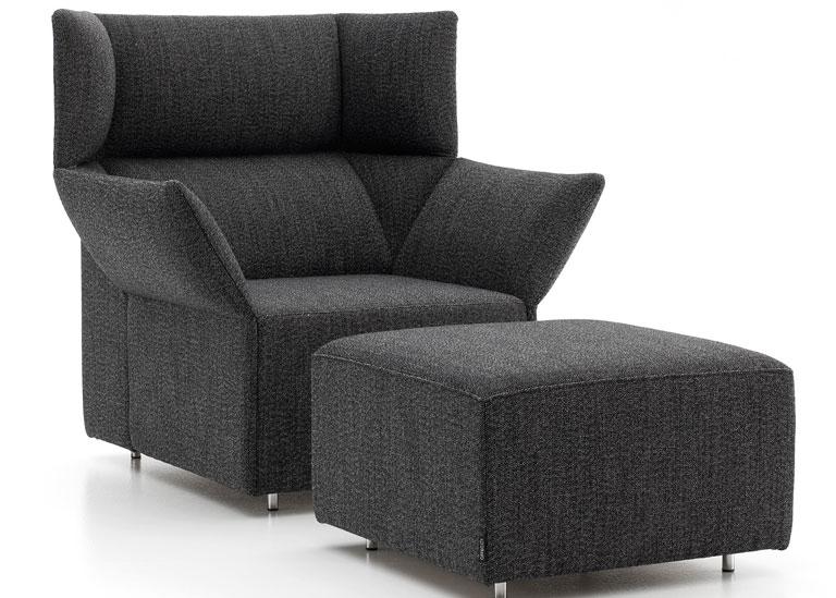 sessel origami von offecct sch ner wohnen. Black Bedroom Furniture Sets. Home Design Ideas