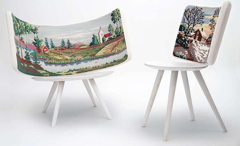 Holz Lampen Von Johan Lindstén ~ Stuhl  Idyll Chair  von Johan Lindsten  [SCHÖNER WOHNEN]