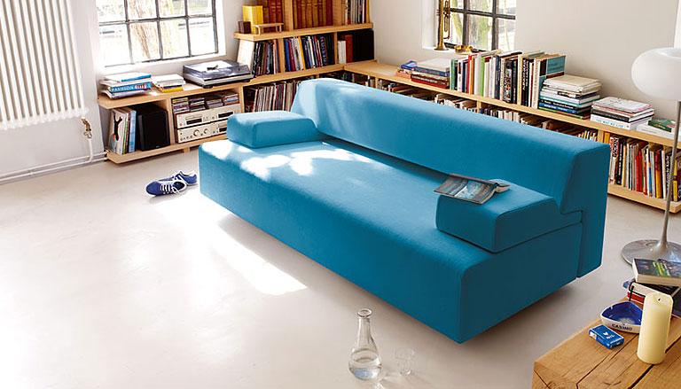 schlafsofas schlafsofa sch ner wohnen. Black Bedroom Furniture Sets. Home Design Ideas