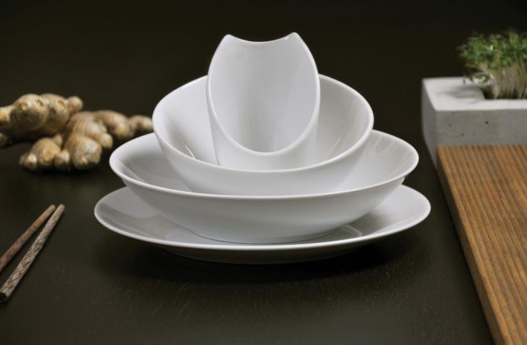 "Geschirr Set Modern geschirr-trends: porzellan-service ""contrast"" von culture form"