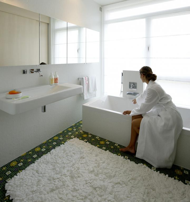 Turbo Blumenwiese aus Mosaik als Badezimmer-Fußboden - Bild 19 UI53